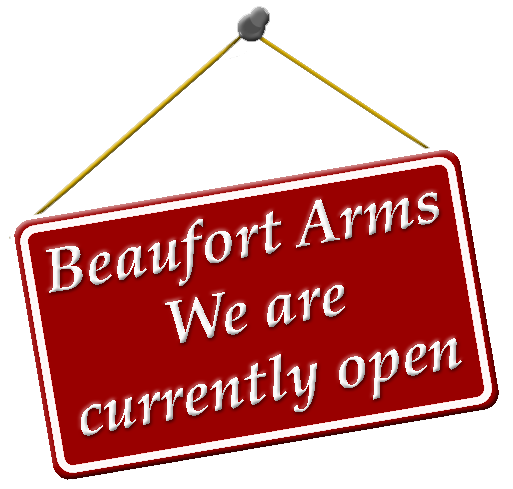 Beaufort Arms - Hawkesbury Upton - Come and see us, we're open!